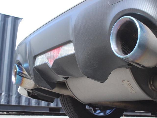 S アプライドA型 STiフロントリップ TRDトランクスポイラー TRDサイドリアスポ モデリスタエアロ TOMSテール トラストマフラー A-TECH17アルミ  HDDナビ フルセグ Bカメ(18枚目)