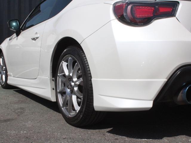 S アプライドA型 STiフロントリップ TRDトランクスポイラー TRDサイドリアスポ モデリスタエアロ TOMSテール トラストマフラー A-TECH17アルミ  HDDナビ フルセグ Bカメ(26枚目)