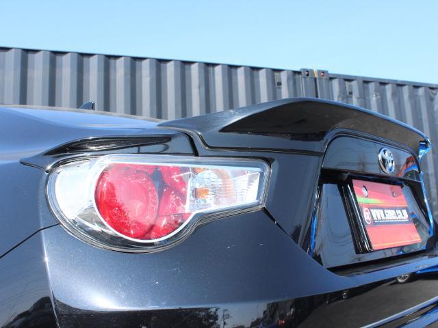 GT アプライドD型 ワンオーナー TRDエアロ TRDフェンダーフィン TRDマフラー TRDトランクスポイラー BLITZ車高調 純正SDナビ フルセグ Bカメ クルコン オートライト ETC HID(21枚目)