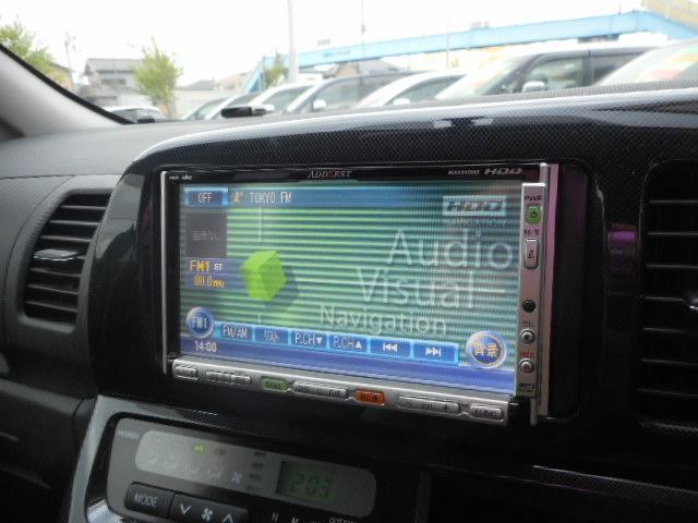 トヨタ ウィッシュ Z 社外17インチAW HDDナビ スマートキー HID