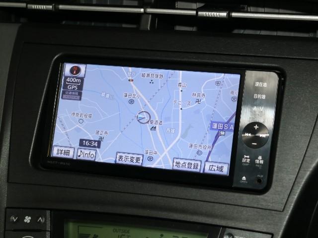 トヨタ プリウス S  ツーリングセレクション メモリナビ フルセグ 1オーナ