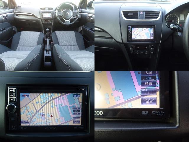 スズキ スイフト RS 1年保証付 メモリーナビ 純正5速 地デジ HID