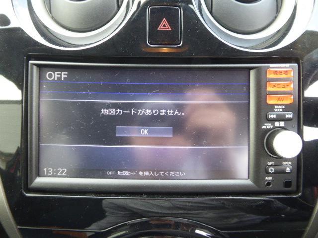 日産 ノート X エマージェンシーブレーキパッケージ ナビ 自動ブレーキ