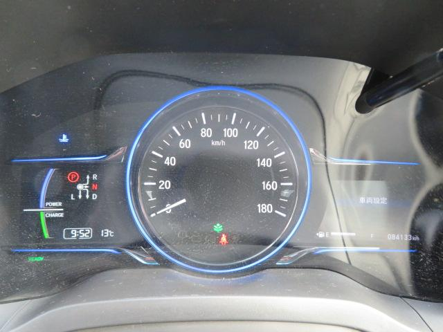 ハイブリッドZ ワンオーナー メモリーナビ Bluetooth バックカメラ ETC スマートキー 衝突軽減ブレ―キ オートクルーズ 半革シート シートヒーター LEDライト モデューロエアロ 無限グリル&18AW(10枚目)