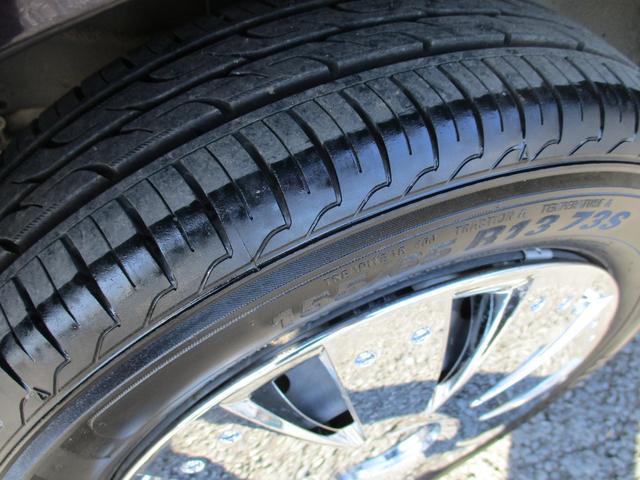 タイヤはまだまだ使えます。また当社は新品のアルミホイールも取り扱い中!15インチでタイヤ・アルミ新品でなんと4万円から^^大変お買い得商品ですので購入した者勝ちです☆よくある『売り切れ御免』商品です