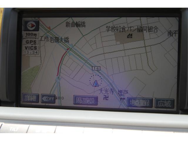 430SCV 純正ナビ クルコン 社外18AW 電動オープン(3枚目)