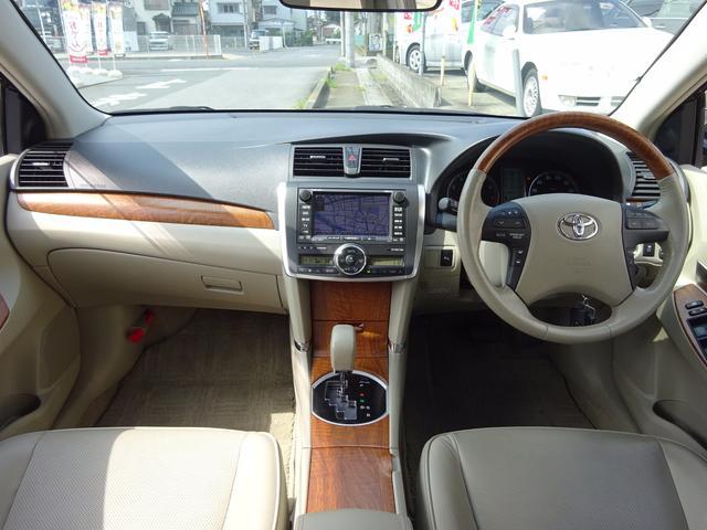 トヨタ プレミオ 2.0Gスペリア 本革 HDDナビ クルコン HID ETC