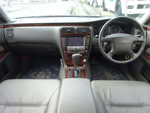 日産 シーマ 41LX VIP 後期 ナビ 本革 エアサス 全パワーシート
