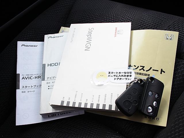 ホンダ ステップワゴンスパーダ Z 8人 1オナ 両側Pスラ ナビ