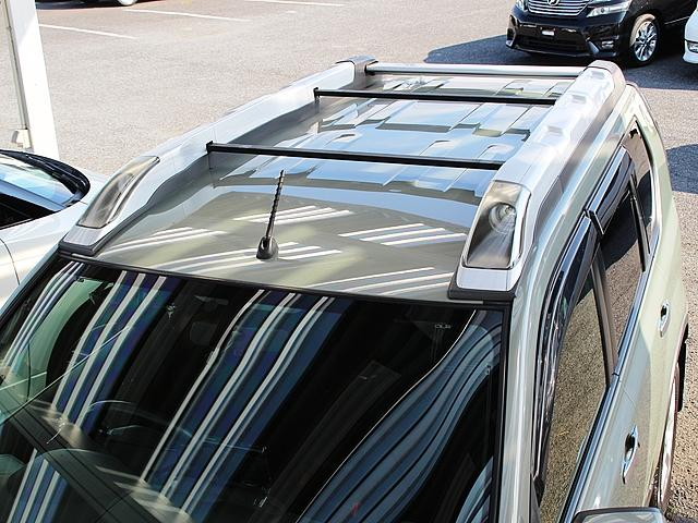 日産 エクストレイル 20Xtt 4WD ハイパールーフレール HDDナビ