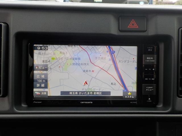 DX 登録済未使用車 新品ナビTV CD&DVD再生可(4枚目)