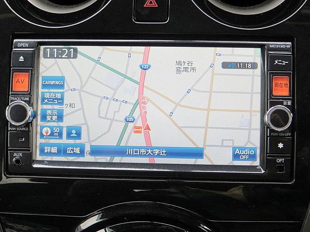 日産 ノート X DIG-S 禁煙車 1オーナー 純正SDナビ ETC