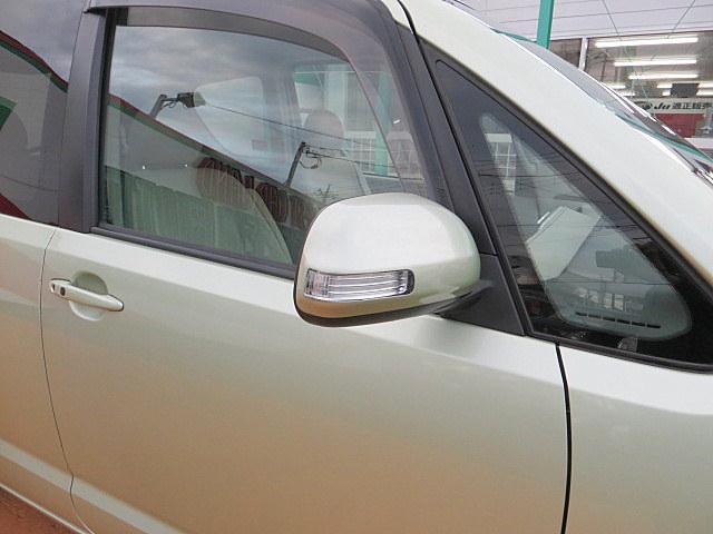 ミラーウィンカーは歩行者の視線の高さに合わせて目に付きやすく、安全性が高まります!それに見た目もオシャレですよね!最近では多くなってきました!ちゃんと付いてますよ!!