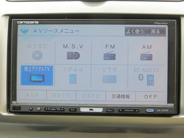 15X 社外HDDナビ フルセグTV インテリキー(18枚目)