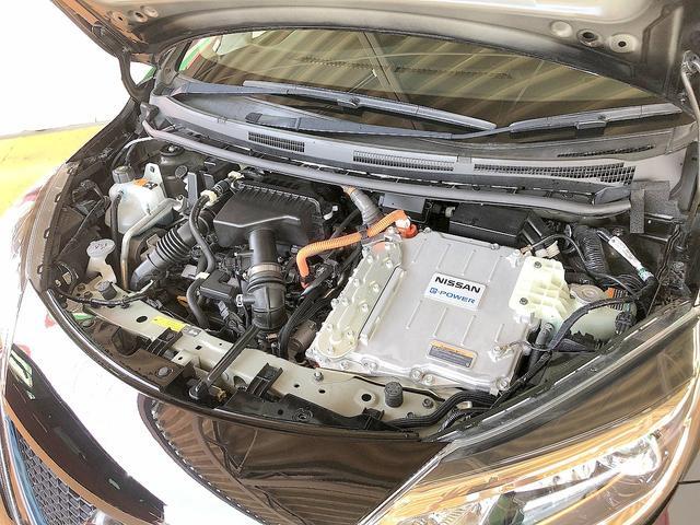 e-パワー X 修復歴なし 禁煙車 純正SDナビ 自動衝突被害軽減ブレーキ 全周囲モニター レーンキープ インテリキー ETC USB接続 Bluetooth 横滑り防止 社外14AW ステアSW プッシュスタート(27枚目)