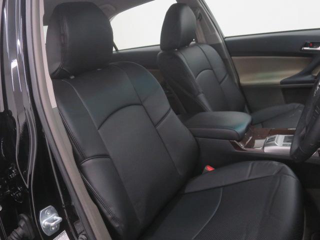 新品本革調シートカバーは見た目の高級感だけでなく、メンテナンスも簡単でオススメです!!