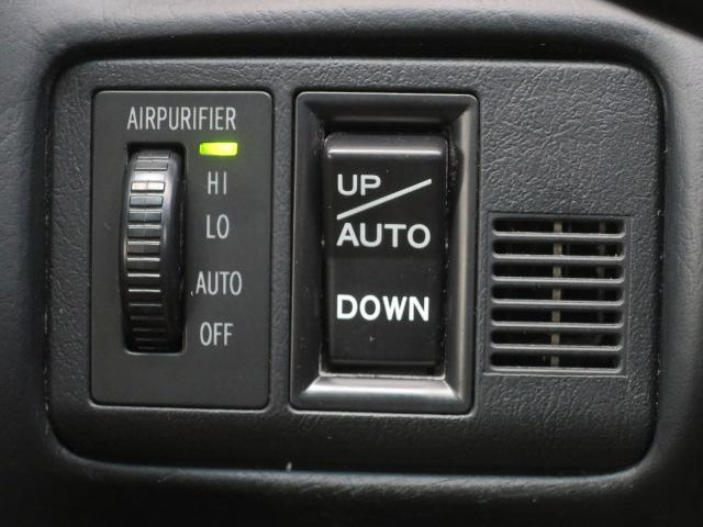 空気清浄機能付きで車内の空気も清潔に保てます!!