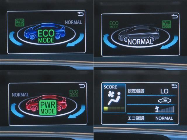 ドライブモード付で、エコドライブモード・パワーモード・EVドライブモードの3パターンから走行シーンに合わせて選択できます!!