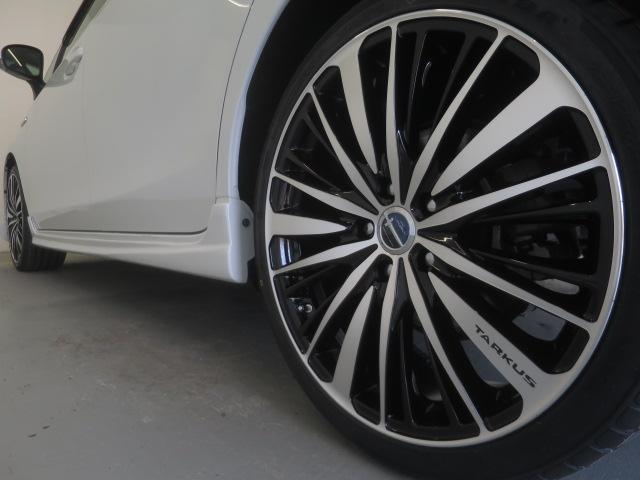 スマートキー・新品フルエアロ・新品19インチAW・新品タイヤ・新品ローダウンサス・新品HIDヘッドライト・フォグランプ付でエクステリアもドレスアップ済!キマってます!