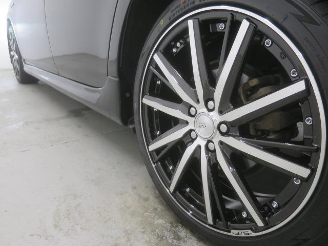 S 後期型 新品フルエアロ 新品18インチAW 新品黒革調シート HIDヘッドライト SDナビ バックカメラ 地デジ コーナーセンサー スマートキー ETC(8枚目)