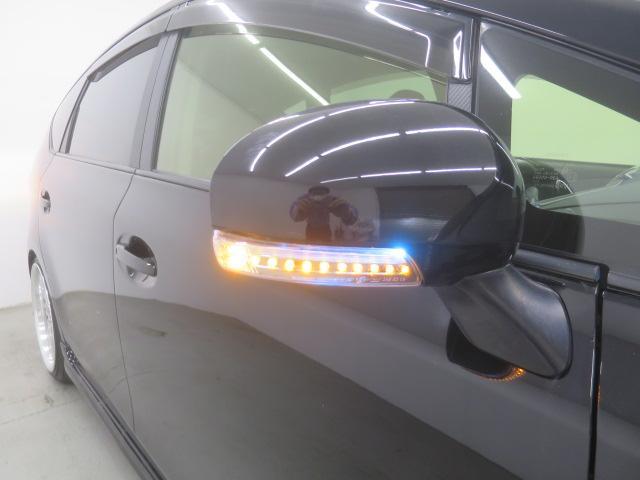 S ツインパノラマルーフ 3眼LEDヘッドライト フルエアロ TEIN車高調 WORK19インチAW 9インチナビBカメラ地デジ 黒革調シート ウッドコンビハンドル クルーズC ドラレコ ETC(11枚目)