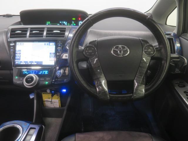 S ツインパノラマルーフ 3眼LEDヘッドライト フルエアロ TEIN車高調 WORK19インチAW 9インチナビBカメラ地デジ 黒革調シート ウッドコンビハンドル クルーズC ドラレコ ETC(14枚目)