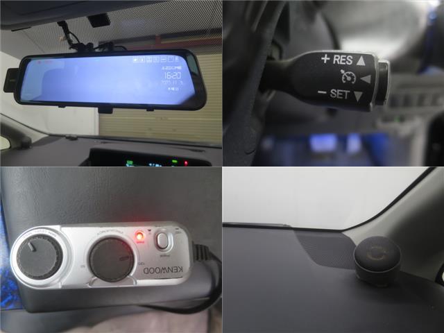 S ツインパノラマルーフ 3眼LEDヘッドライト フルエアロ TEIN車高調 WORK19インチAW 9インチナビBカメラ地デジ 黒革調シート ウッドコンビハンドル クルーズC ドラレコ ETC(16枚目)