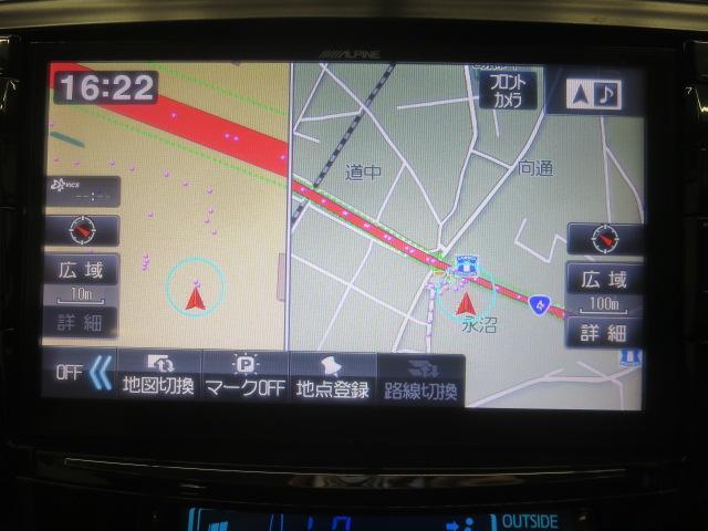 S ツインパノラマルーフ 3眼LEDヘッドライト フルエアロ TEIN車高調 WORK19インチAW 9インチナビBカメラ地デジ 黒革調シート ウッドコンビハンドル クルーズC ドラレコ ETC(22枚目)