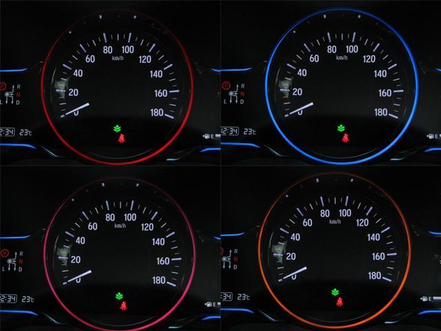 ハイブリッドX あんしんPKG 衝突軽減ブレーキ リアクティブフォースペダル クルーズC 6色メーター LEDヘッドライト インターナビBカメラ地デジ ブルートゥース パドルシフト スマートキー ETC 記録簿(12枚目)