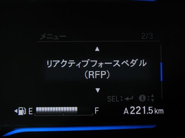 ハイブリッドX あんしんPKG 衝突軽減ブレーキ リアクティブフォースペダル クルーズC 6色メーター LEDヘッドライト インターナビBカメラ地デジ ブルートゥース パドルシフト スマートキー ETC 記録簿(19枚目)