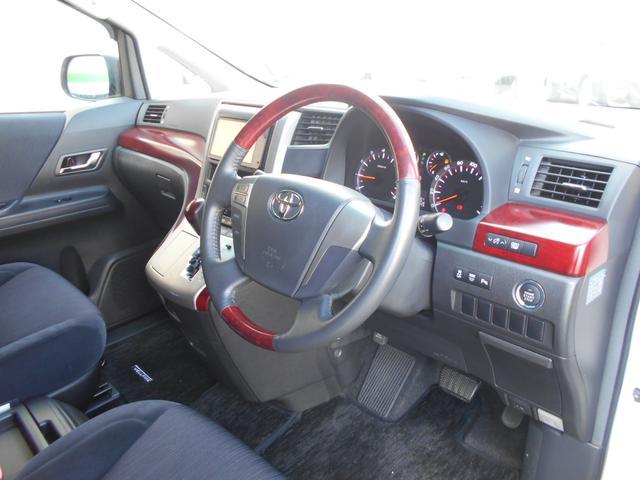 トヨタ ヴェルファイア 2.4Z ワンオーナー ロクサーニ19AW 両側電動ドア