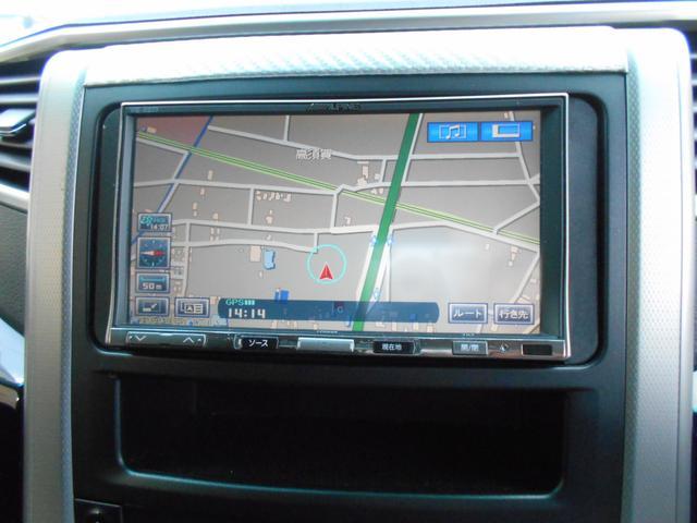 トヨタ ヴェルファイア 2.4Z ナビフルセグ ローダウン 後席モニター ETC