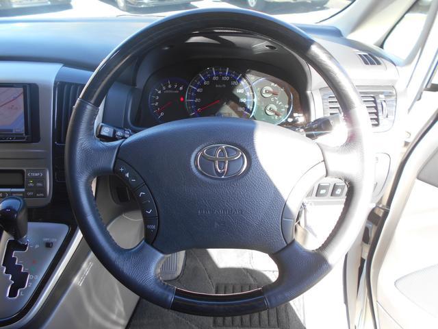 トヨタ アルファードV ASリミテッド アップガレージ車高調 6インチミラーモニター