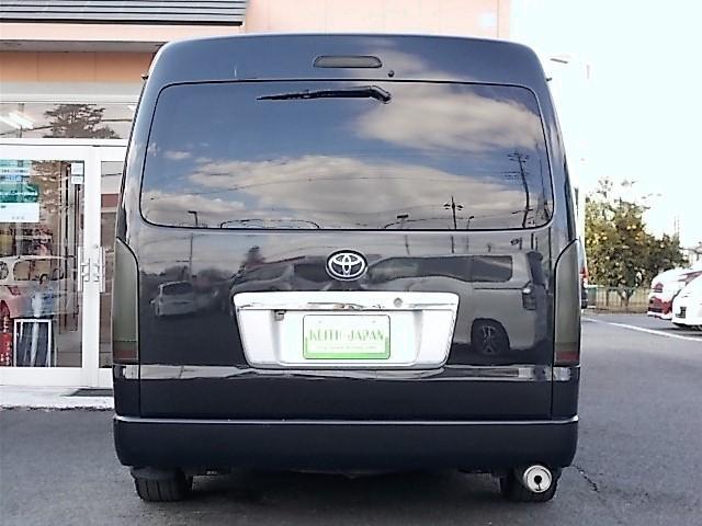 トヨタ ハイエースワゴン GL ローダウン LEDテール TRDシートカバー
