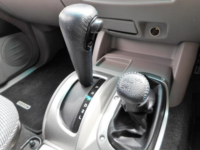三菱 トライトン ベースグレード 4WD 1オーナー HDDナビ ETC