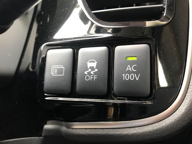 メーカーオプションの人気装備AC100Vが装備されております。