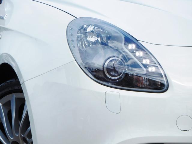アルファロメオ アルファロメオ ジュリエッタ スポルティーバ 全国保証 黒レザーPシート ラインLED