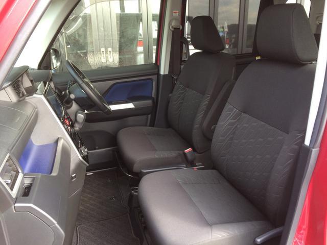 ホールド感もよく、長時間運転にも疲れにくい重厚なシートで、高級感、清潔感あふれるブラックシートです!