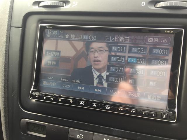 フォルクスワーゲン VW ゴルフ GT フルセグテレビHDDナビ ETC HIDライト 禁煙車