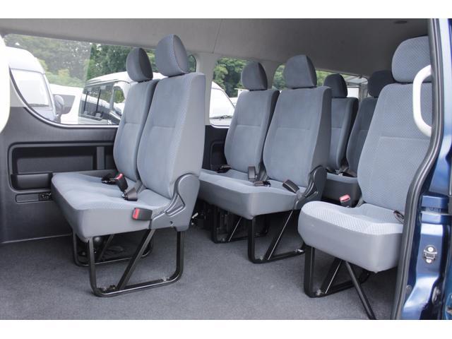 トヨタ ハイエースコミューター 2.7GL 電動スライドドア 社外リヤモニター 15人乗り