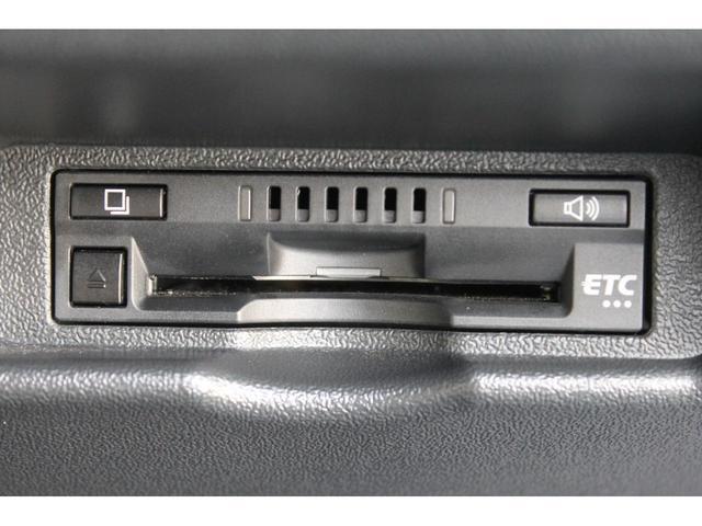 純正ビルトインETC車載器が装備されています。