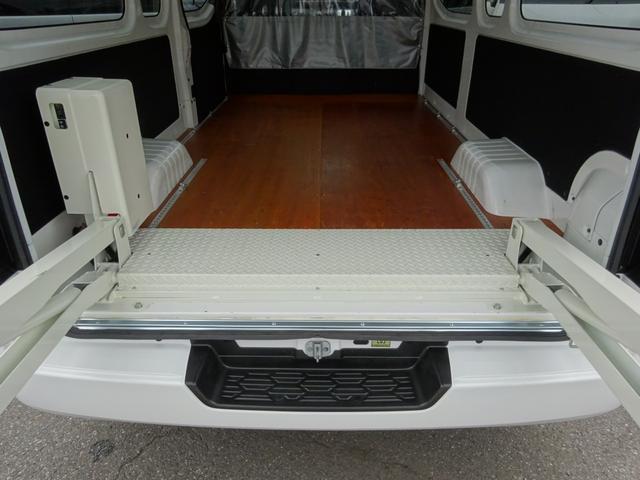 スーパーロングワイドDXターボ 4WD ディーゼル車 和光工業リフト付 最大昇降能力350kg エマージェンシーブレーキ 純正ナビ バックカメラ ETC2.0(68枚目)