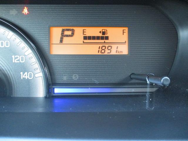 【走行距離】この少ない距離は必見ですよ。スピードメーターや回転計も見やすいです!