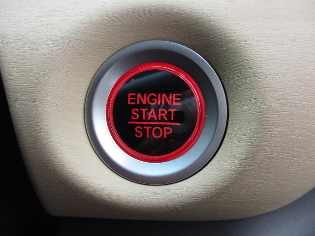 【キーレスプッシュスタート】エンジンの始動、停止がスタートボタンで出来ちゃいます♪もうカギを差し込まなくていいんです!!