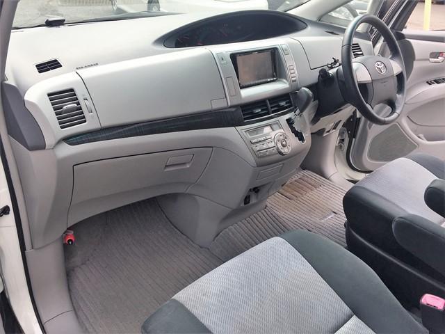 トヨタ エスティマ アエラス サンルーフ 両側電動スライド HDDナビ フルセグ
