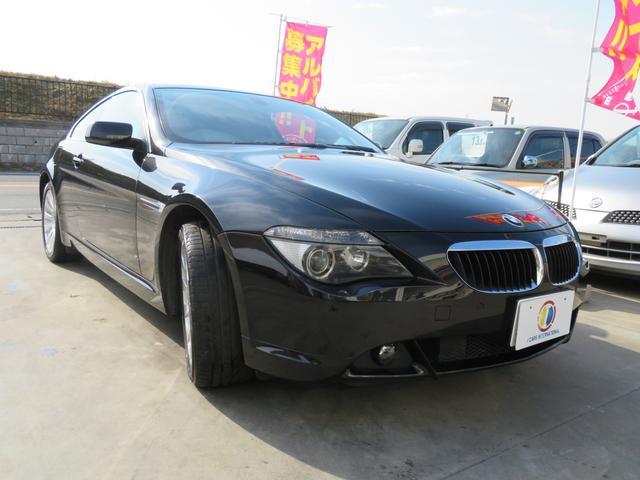 BMW BMW 630i 純正ナビ バックカメラ サンルーフ 革シート