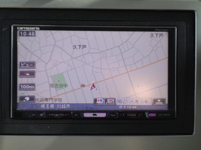 スポーツ 4WD HDDナビ フルセグ地デジ サイドカメラ DVD再生 ミュージックサーバー キーレス フォグHID 社外アルミ ルーフレールレス(24枚目)