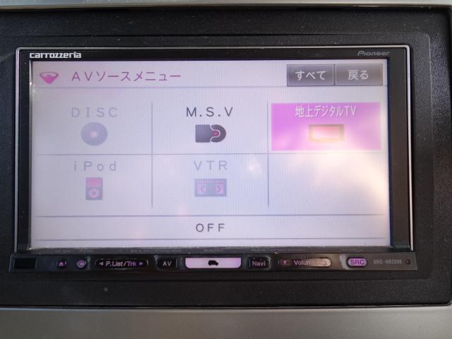 スポーツ 4WD HDDナビ フルセグ地デジ サイドカメラ DVD再生 ミュージックサーバー キーレス フォグHID 社外アルミ ルーフレールレス(25枚目)