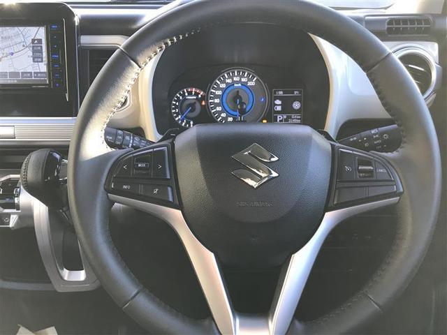ハイブリッドMZ ナビ サポカー LEDヘッドライト スマートキー シートヒーター(10枚目)