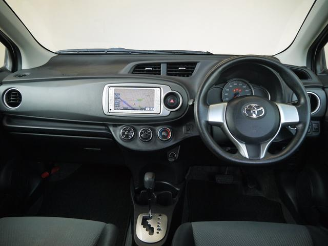 トヨタ ヴィッツ F スマイルエディション ワンオーナー車 SDナビ ETC